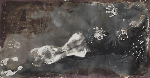 Bukfenc Somersault ff b w photogram 1988 100 x 200 cm