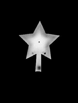 Formas pentagram Form of a pentagram 40x30 cm