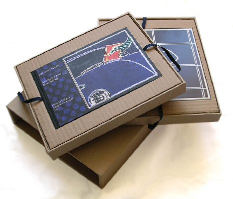 2001 A 5 color 148 pages hand bound and slip cased C print on plexiglass or tile included edition of 3 numbered and signed