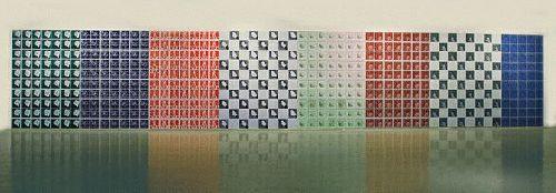 Szorgos kezek csempek Busy Hands tiles 2 x 11 m