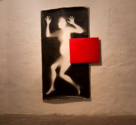 b wphotogram 1993 2014 200 x 100 cm untouched ortochromatic photopaper in red light protective bag 60 x 50 cm